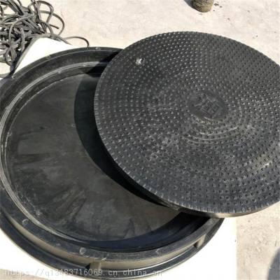 直径1米的玻璃钢井盖 加油站直径一米的复合重型油井盖