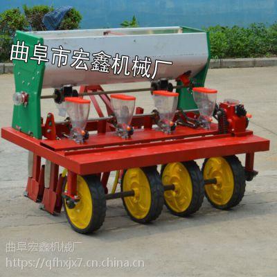 拖拉机带小颗粒种子精播机 谷子高粱绿豆精量播种机 行距株距可调