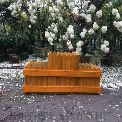 南平景区花箱 户外木质花箱价格