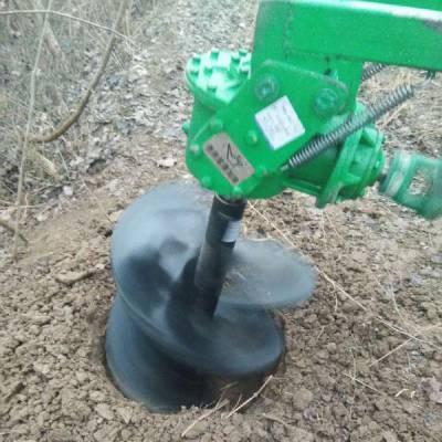 高唐 广告牌路标钻坑机 山药种植挖坑打洞机 螺旋挖坑机