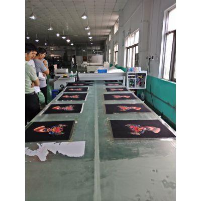 涂料纺织数码直喷印花机 服装成衣裁片跑台印花机 printer创业设备