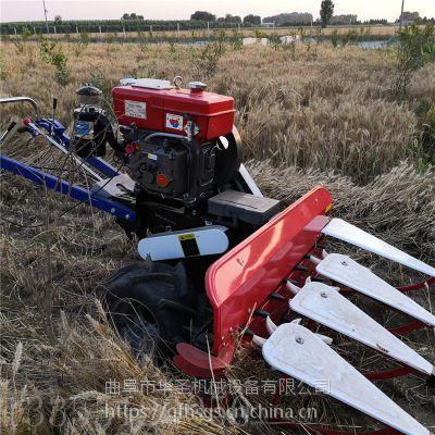 使用高效率麦草收割机 手扶式割晒机厂家