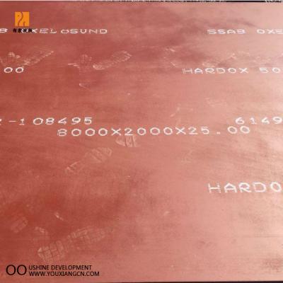 HARDOX400耐磨钢板HARDOX400耐磨钢HARDOX耐磨钢板现货供应