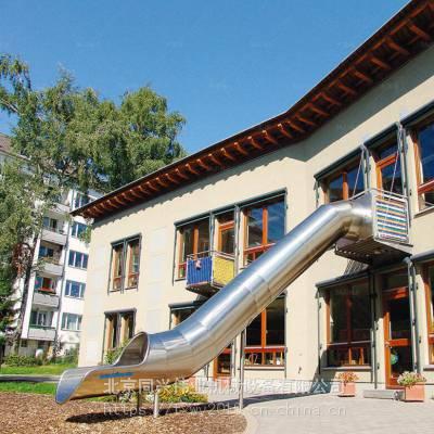 幼儿园木质户外滑梯 户外度假村旅游非标不锈钢滑梯 儿童游乐场滑梯设备厂家直销定做