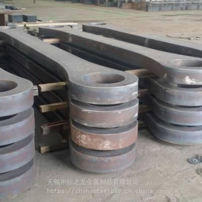 现货供应12CR2MO1R压力容器板切割圆切方切圆环法兰异形定制