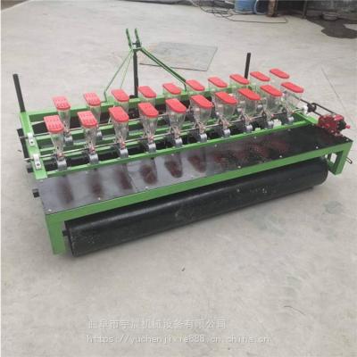 一次一粒油菜籽精播机 大面积蔬菜种植专用播种机 宇晨手推式芹菜播种机