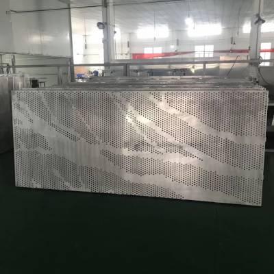 来图加工3D手感铝板 穿孔铝板 大小可定制