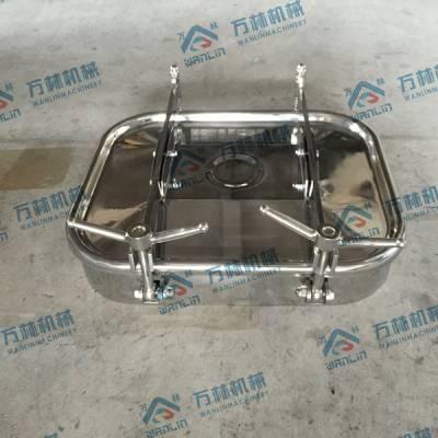 温州厂家供应不锈钢330*430方形人孔/可根据客户图纸定制