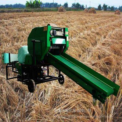 鲜草料不易腐蚀打捆包膜机/储存保鲜机都是有什么价格