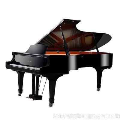 大型钢琴批发英国世爵专业演奏W276G传统原声机械9尺实木三角钢琴