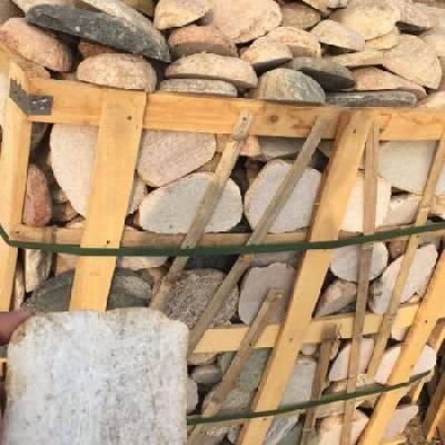 切片鹅卵石多少钱一吨,河北yabo88下载切片鹅卵石批发