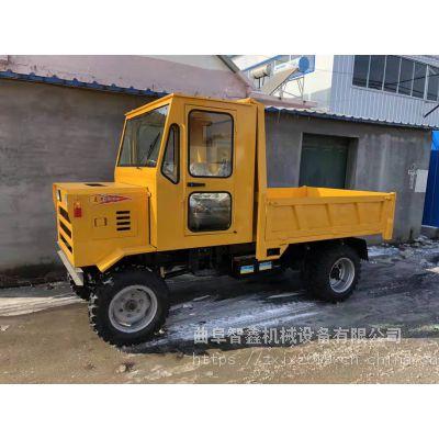 货源厂家农用小型柴油四不像运输车 前后驱动拉土自卸拖拉机