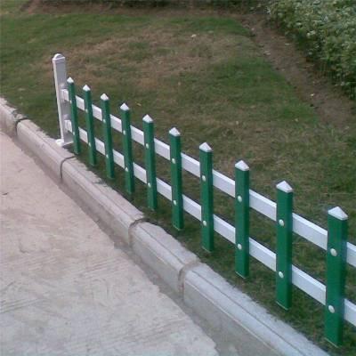 pvc草坪护栏厂家 园林草坪护栏 河道隔离网