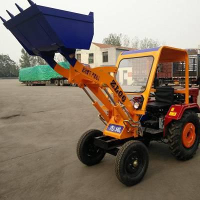 小区除雪铲雪机工作视频 建筑工地推沙装载机 多功能轮式装载机厂家
