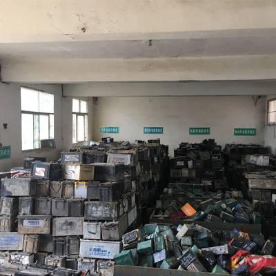 桐柏回收废旧蓄电池价格高-恒源高价上门回收电瓶