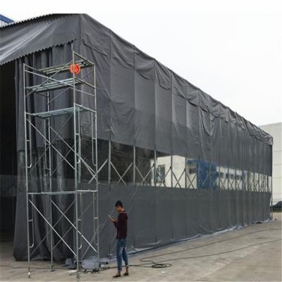安徽淮南伸缩式遮阳雨棚 雨棚支架 厂家搭建雨棚