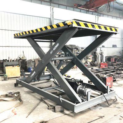 固定式卸货平台 液压式电动升降装猪台 垂直升降机生产厂家