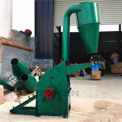 立式大型稻壳落叶粉碎机出厂价 杂粮干稻草粉碎机