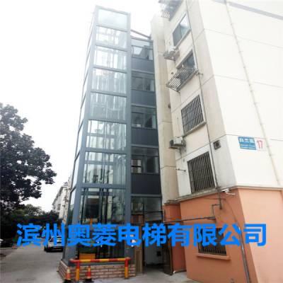淄川旧楼加装电梯项目-厂家定制直销-电梯钢结构