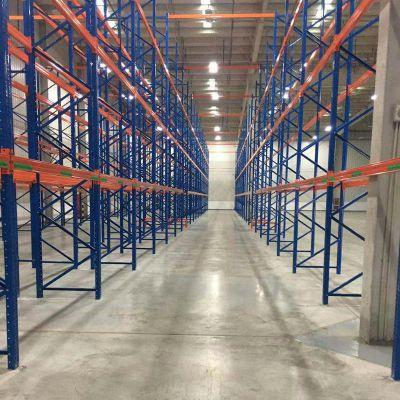 厂家供应大型横梁式货架 可定制仓储货架 托盘货架