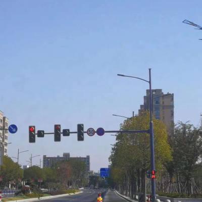 昆明交通标志牌八角杆件厂家 Q235钢材定制八棱杆 江苏斯美尔光电科技有限公司