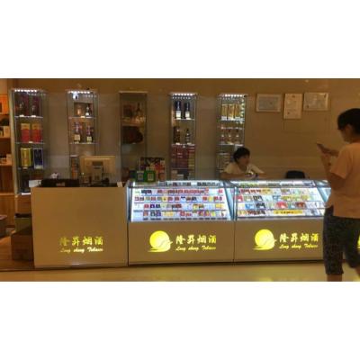 供应广东省烟柜厂家思越展示超市烟柜卖烟柜台