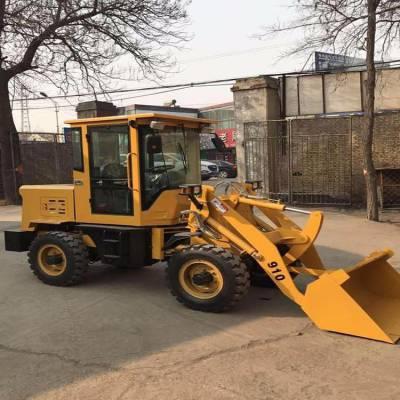 水泥混泥土装卸铲车 ZL10柴油四驱装载机价格 沙场专用铲车