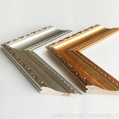 画框实木线条 692金/银扭花 相框线条油画装饰线条相框木框条