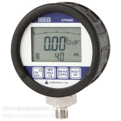 准确度达0.25 %的WIKA数字压力表CPG500