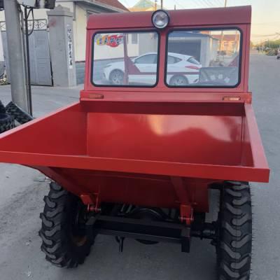 25马力全液压翻斗车 高效节能的翻斗车 矿用前卸式四轮车