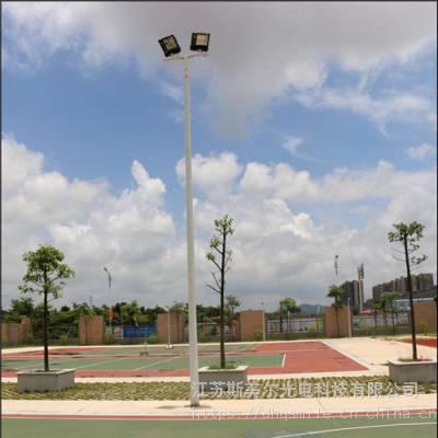 篮球场照明路灯 足球场用高杆灯带升降系统 专业生产厂家