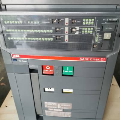 现货销售ABB框架式断路器E1N1000 3P