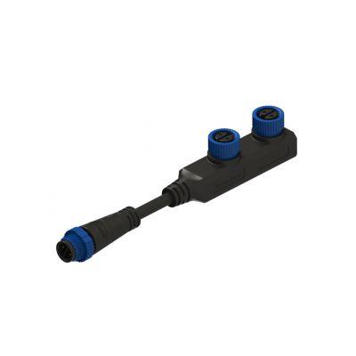 led户外灯防水插头-防水连接器-丰年防水连接器