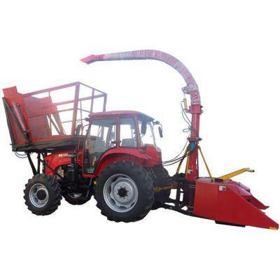 玉米秸秆青储机 可上门安装青贮牧草收割机圣泰出品