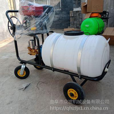 大型喷雾消毒机 香菇温室喷雾器 高压拉管式打药机
