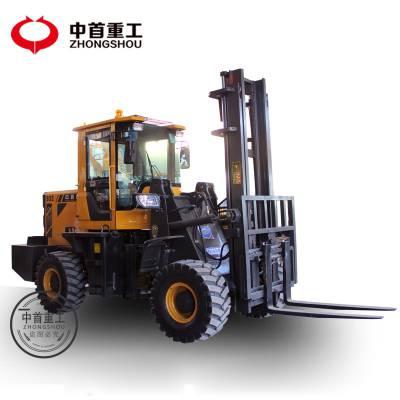 3吨叉车A工地专用四驱叉车生产厂家