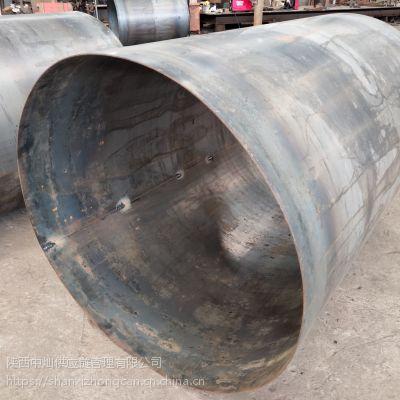 陕西西安钢护筒加工厂家 钢板焊管市场低价 锯床切割花纹楼梯步价格
