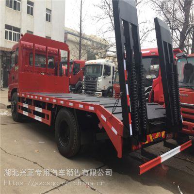 东风挖掘机拖板车钩机板车价格