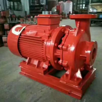 浙江省115米扬程高层消防泵价格XBD11.5/40-L 消火栓增压泵 喷淋增压泵