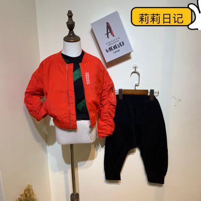 潮童莉莉日记2019年秋季新款发布外套皮衣毛衣批发走份