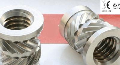 嵌件螺母植入-叁线数控(在线咨询)-常平镇嵌件螺母