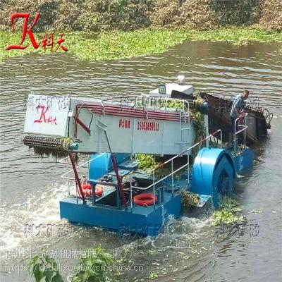 全自动水葫芦打捞船价格 水草收割船打捞效果