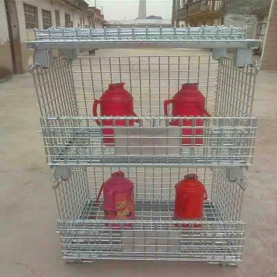 江西金属周转箱 陕西货架仓储笼 贵州铁笼子