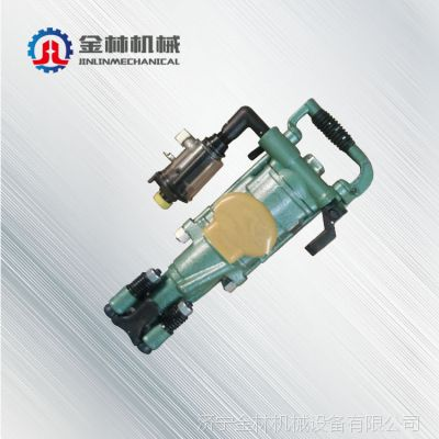 中国山西太原新品促销 气动手持式钻孔机 直销yt-27气腿凿岩机