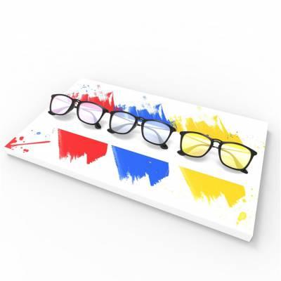 放眼镜的展架怎么安装-蓝树林-重庆市眼镜展架