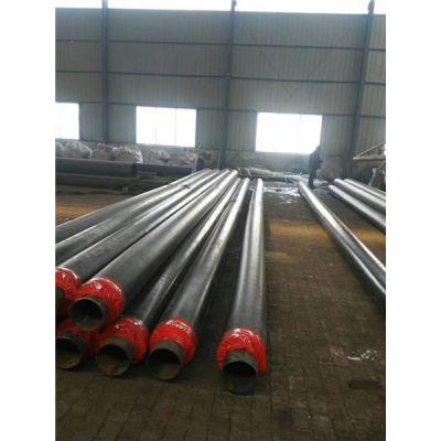 安徽热水循环系统用钢套钢预制直埋保温钢管检尺价格