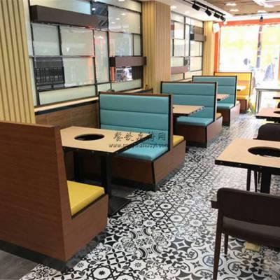 阿坝州火锅店家具定做,火锅店卡座沙发桌子椅子哪里买