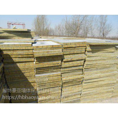 金坛150kg插丝岩棉复合板厂家/ 低密度岩棉复合板密度170kg