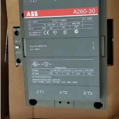 原装正品ABB交流接触器A260-30-11 110V 220V 380V 300A安装尺寸