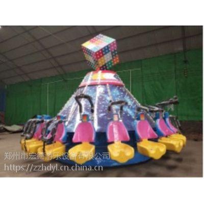 飞天转盘 游乐场新型游乐设备创业项目迷幻魔方刺激好玩人气旺游艺机热销